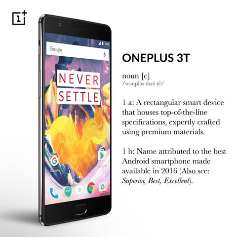 OnePlus3T