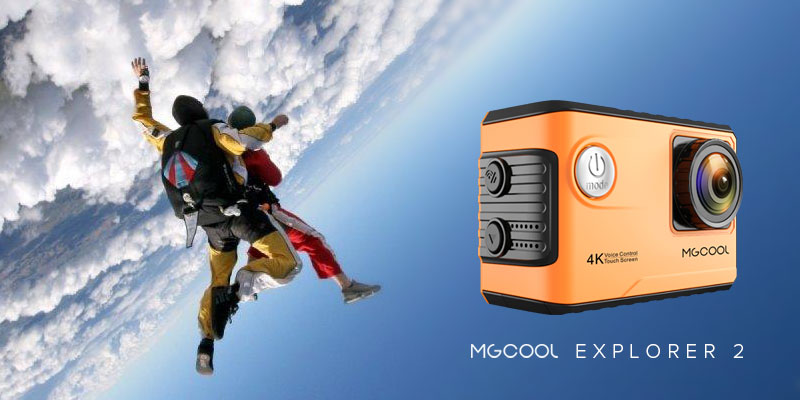 MGCOOL Explorer 2 – The world's second 4K action camera supporting voice control
