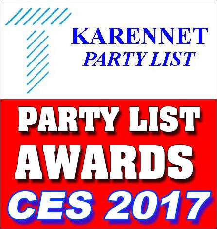 Thomas PR Announces KarenNet Party List Awards – Best Press Parties of CES 2017