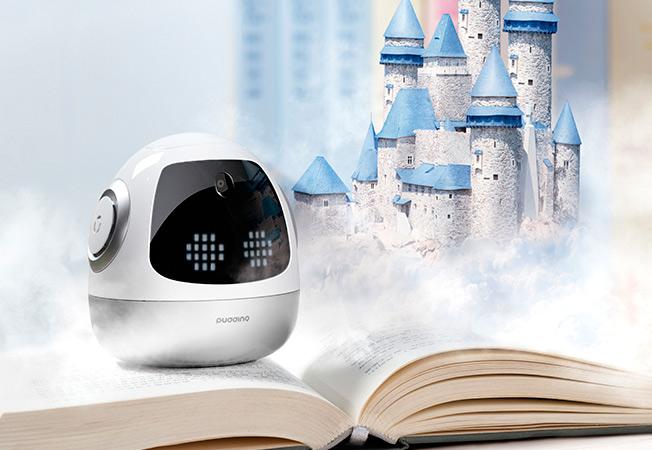 Roobo unveils PuddingBeanQ AI companion robot for kids at CES 2017